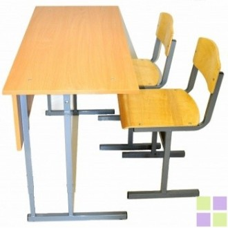Стол +2 стула (ламинат)