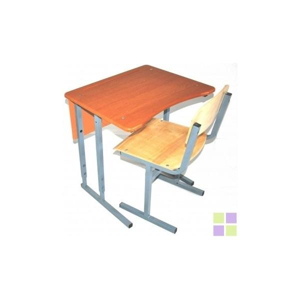 Стол +1 стул с фигурной столешницей