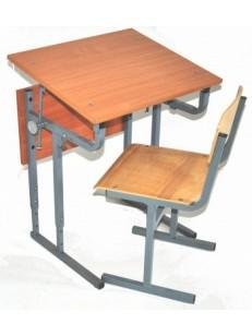 Стол +1 стул (с регулировкой угла наклона)