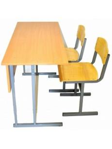 Стол+2 стула (ламинат)