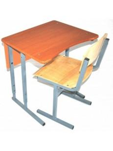 Стол+1 стул (фигурная столешница)