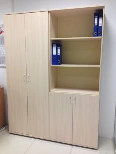 Шкаф полуоткрытый + Гардероб