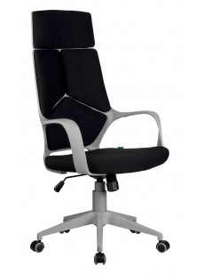 Chair 8989 (ткань, серый пластик)