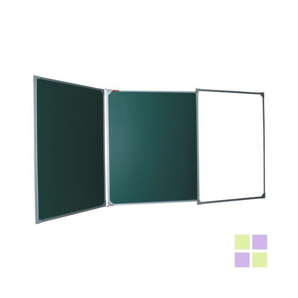 Трехэлементная комбинированная (100х150/300 см), 5 рабочих поверхностей