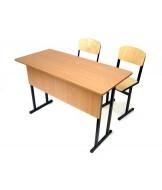 Нерегулируемые парты и стулья