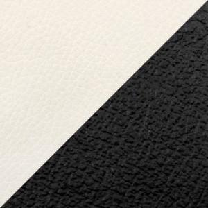Белый/черный (экокожа)