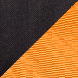 Ткань TW комбинированная черный-оранжевый