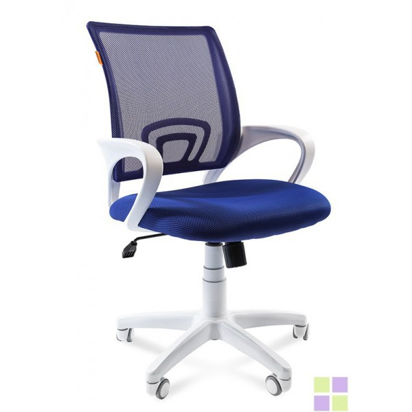 CHAIRMAN 696 white (синий)