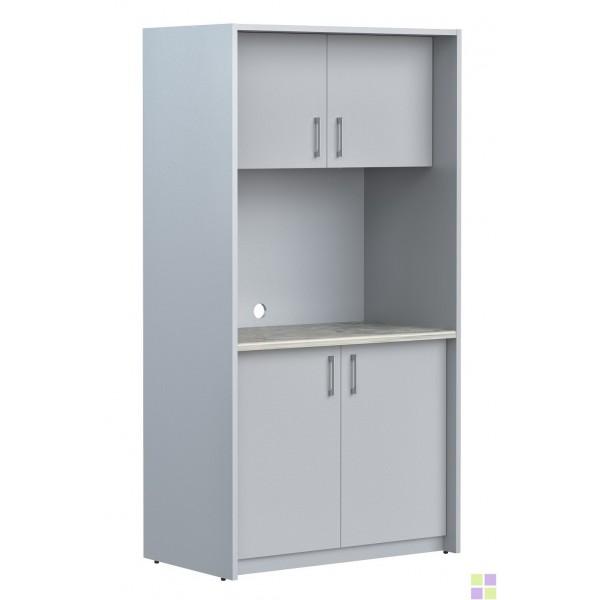 SCB 120.1 мини-кухня (Серый/металлик)