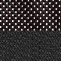 Черная-ткань/Черная-сетка