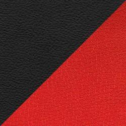 Красный/черный (экокожа)