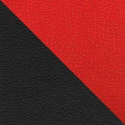 Черный/красный (экокожа)