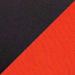 Ткань TW комбинированная черный-красный