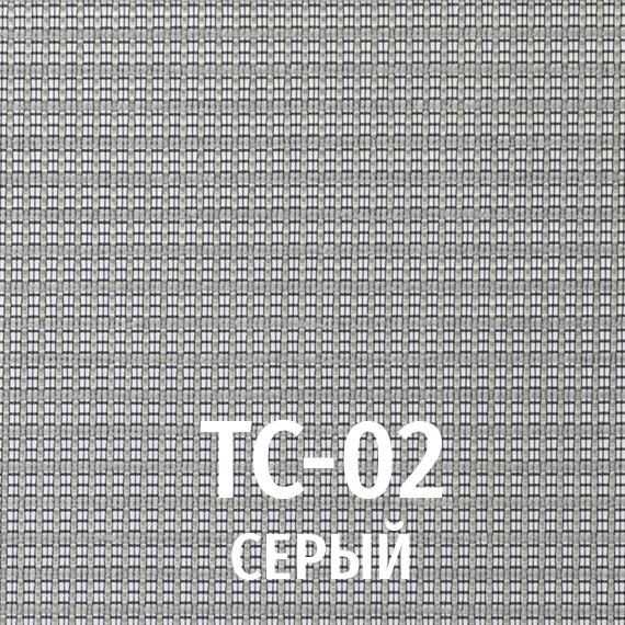 Серый/ткань-сетка TC-02